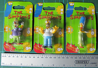 Figures - Simpsons, (Holmer, Marge and Krusty) - New