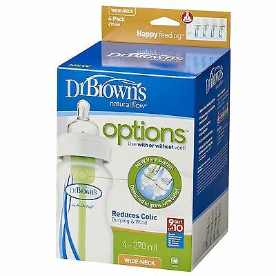 Dr Brown's Options 4 Pack - 270ml