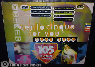 MC 105 CENTOCINQUE FOR YOU 1998-1999 Doppia Musicassetta