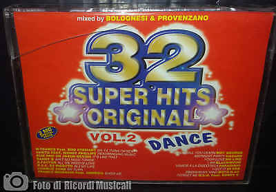 MC 32 SUPER HITS ORIGINAL VOL.2 DANCE - '70-'80 (1997) Doppia Musicasssetta
