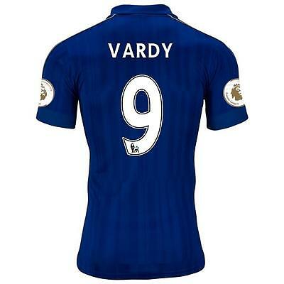 LEICESTER CITY Home jersey VARDY 9 for size X-Large