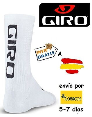 CALCETINES CICLISMO GIRO HRC TEAM, color BLANCO