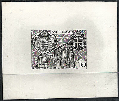 MONACO n° 1331 Cathedral test artist artist proof SLANIA ! Rarity