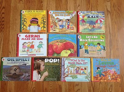 Lot of 10 Stage 2 LET'S READ AND FIND OUT SCIENCE BOOKS Great NON-FICTION Nice!