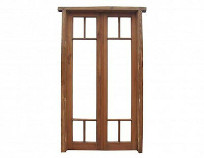 Double Wooden French Door #C1066