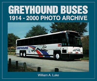 Greyhound Buses 1914-2000 Photo Archive book paper
