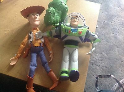 Toy Story Bundle ! Woody ! Buzz Lightyear And Rex