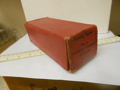 Hornby O Gauge Postwar Empty Wagon Box In Good Condition - No.1 - All Flaps Ok