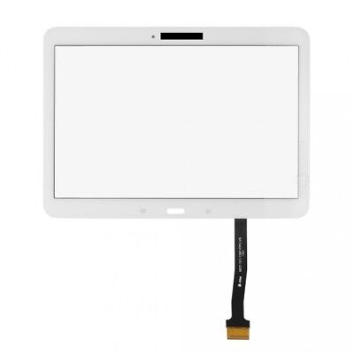White Samsung Galaxy T530 Tab 4 10.1 SM-T530 Touch Screen Digitizer Glass Lens