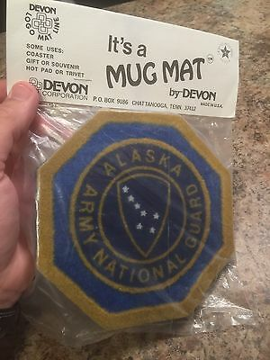Alaska Army National Guard Oversized Mug Mat For Your Coffee Mug New In Package