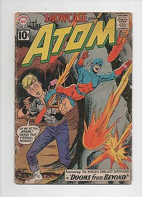 DC Comics  Showcase #35  The Atom  Complete Good  Silver Age