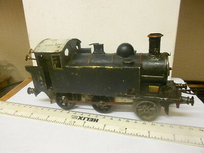 O Gauge Loco  In Poor Condition - Motor Is Ok - For Rebuild