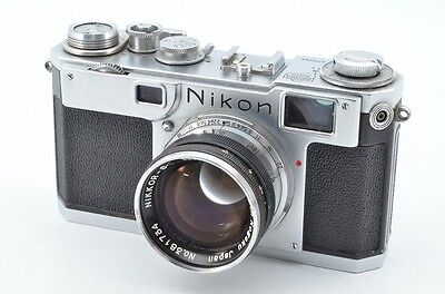 [Rare] Nikon S with Nikkor-S.C. 1:1.4 f=50mm #79772