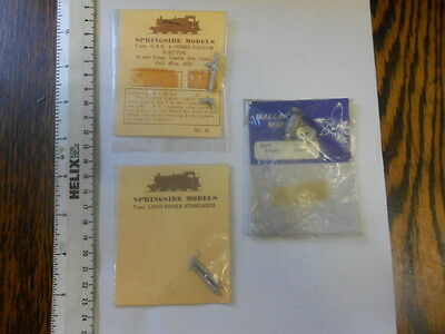 O Gauge Accessories In Sealed Bags X 3 - No.2