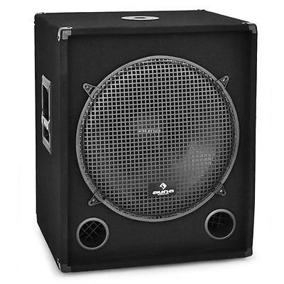"18"" Dj Disco Passive Subwoofer Sub Bass Speaker 1200W"