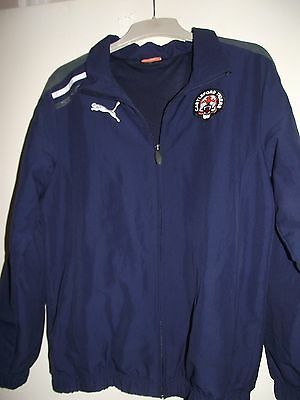 castleford tigers small rugby league tracksuit top good cond