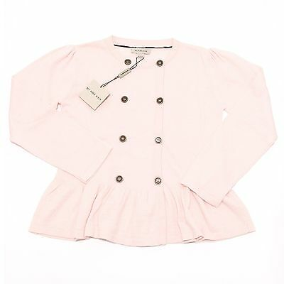 3272H cardigan bimba rosa BURBERRY maglioni cotone lana sweater jumpers kids