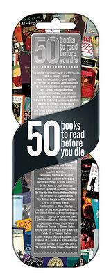 50 Books To Read Before You Die Bookmark