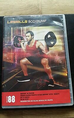 Les Mills Body Pump 88 dvd cd and notes