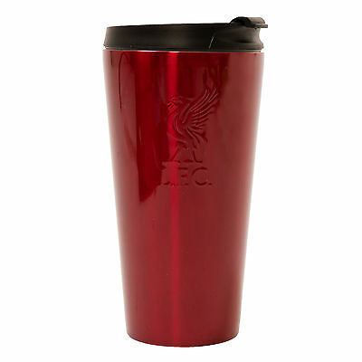 Liverpool FC  LFC Red Metal Travel Mug Official