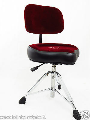 Roc-N-Soc NROR Nitro Red Drum Throne Seat WITH BACKREST!!