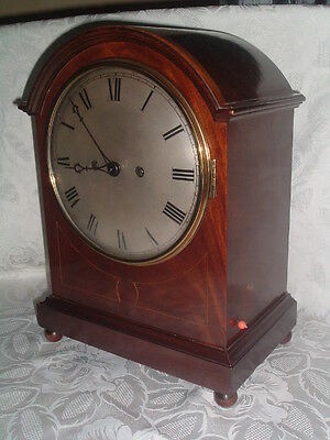 EXCEPTIONAL c 1900 DOUBLE FUSEE Quarter Chiming BRACKET CLOCK Fully Serviced