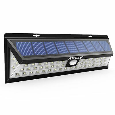 LED Security Garden Solar power light , Outdoor Waterproof with Motion Sensor