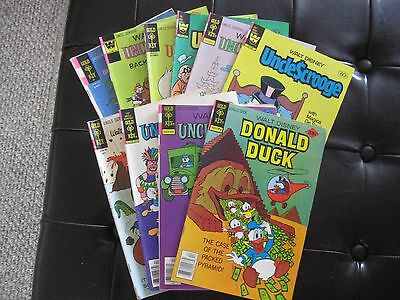 10 Great Disney Uncle Scrooge Comics, spanning decades.