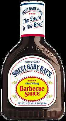 Sweet Baby Ray's BBQ Sauce x 3 - Your Choice Of 3 Flavours