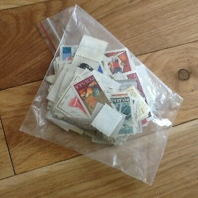 Polish Stamps Mixed Used 100+