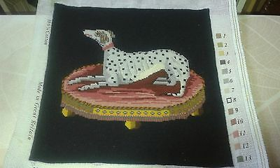 Helen Bradley completed tapestry of a Dog