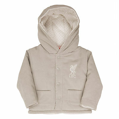 Liverpool FC  LFC Liverbird Grey Baby Cord Jacket Official