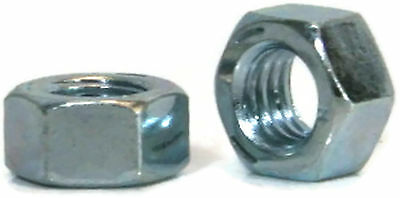 "Hex Finished Nuts Grade 5 Zinc - 1/4""-20 UNC - Qty-250"