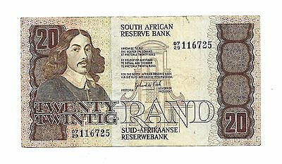 South Africa (P121c) 20 Rand 1982