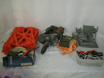 Vintage 1970's Action Man Motorcycle & Side Car + Large Bundle