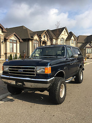 1990 Ford Bronco XLT 1990 Ford Bronco Lifted 4x4