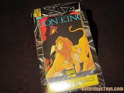 July / Aug 1994 Walt Disney LION KING Marvel Comics TWO PACK Mint condition 1&2