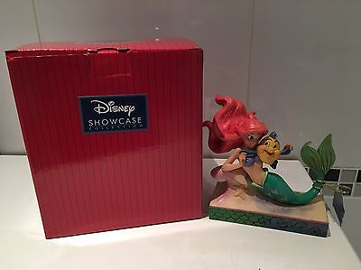 Disney Traditions The Little Mermaid Ariel And Flounder Figurine New 4054274