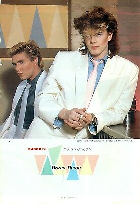 Duran Duran - Clippings From Japanese Magazine Music Life May 1983