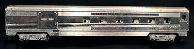 American Flyer No. 960-Columbus Silver Chrome Passenger-Baggage Car-VG+ 1953-56!