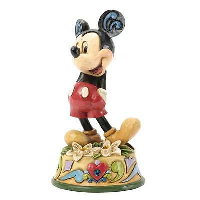 Disney Traditions December Mickey Mouse Figurine New Boxed 4033969