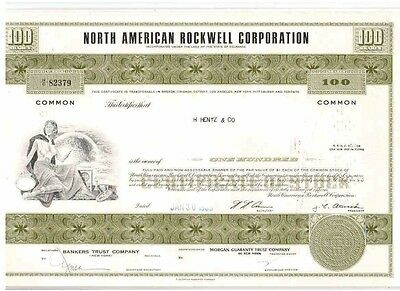 Lot: 10 North American Rockwell Corp.