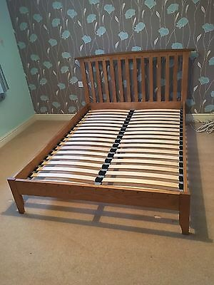 Double Bed frame - Solid Oak