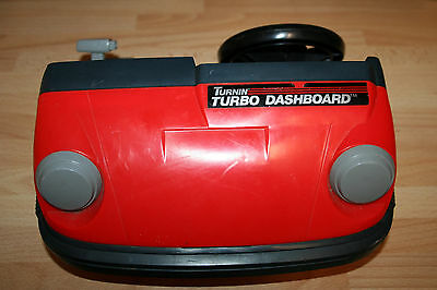 VINTAGE 1980s TOMY TURNIN' TURBO DASHBOARD DRIVING GAME (WORKING)