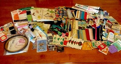 MIXED LOT 180+ Vintage to Modern Sewing Notions