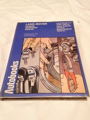 Autobooks Land Rover Owners Workshop Manual