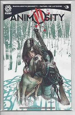 Animosity #3 Tony Harris Variant Cover Hot Series Aftershock Comics Nm