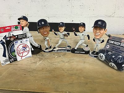 Lot of Forever Collectible Yankee BobbleHead Figures