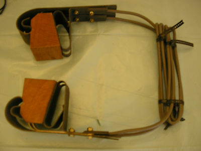 Railway track circuit clips 2 pair with mounting brackets