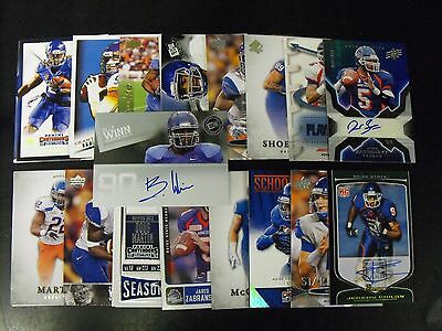 Boise State Broncos 25 Card Lot With  Autographs